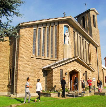 Our Lady Help of Christians, Catholic Church in Cowley Oxford