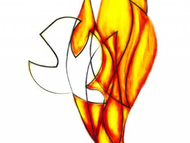 Dove and Flame