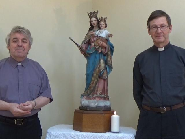 Fr Peter and Fr Graham